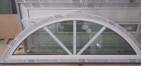 Plastikinis PVC arkinis langas